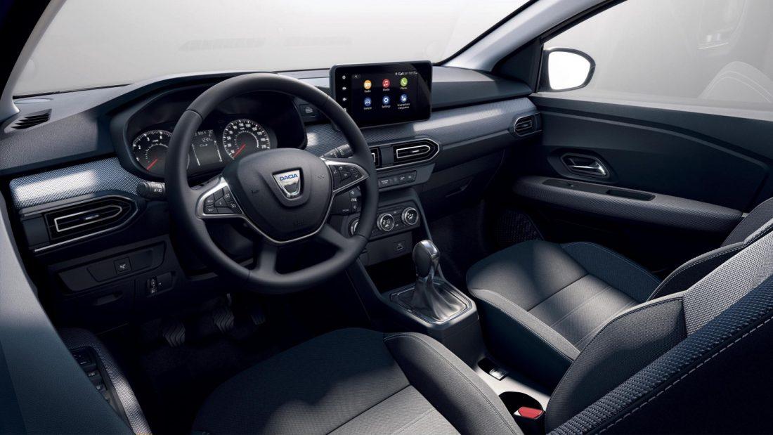 Yeni Dacia Sandero İç Tasarım